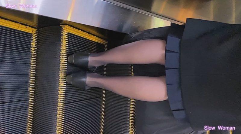 PcolleレビューgcolleパンチラSlow Woman【Pcolle期間限定】魅惑のCAさんSP4☆劇エロ状態!衝撃のパンスト伝線に悶絶^ ^3