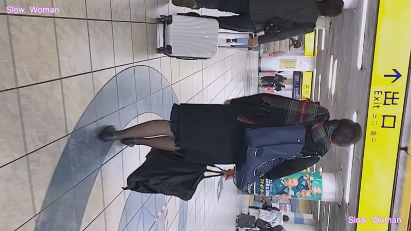 PcolleレビューgcolleパンチラSlow Woman【Pcolle期間限定】魅惑のCAさんSP4☆劇エロ状態!衝撃のパンスト伝線に悶絶^ ^1