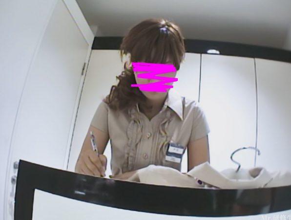PcolleレビューGcolleパンチラMr研修生129 バレた しゃがみコケ店員さん-1