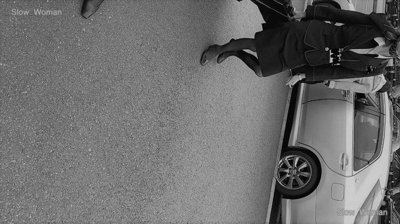 PcolleレビューGcolleパンチラSlow Woman【限定品】魅惑のCAさんSP6☆ホテルへ向かうクルー粘着!エスカでP堪能悶絶^ ^-1