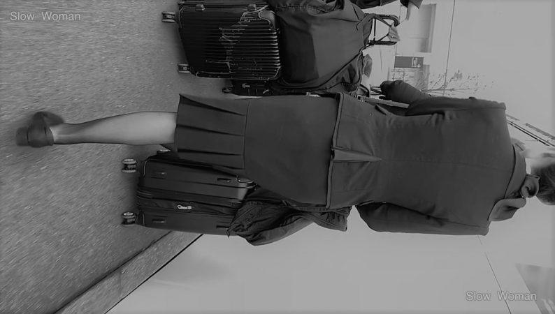PcolleレビューGcolleパンチラSlow Woman【限定品】魅惑のCAさんSP6☆ホテルへ向かうクルー粘着!エスカでP堪能悶絶^ ^-4