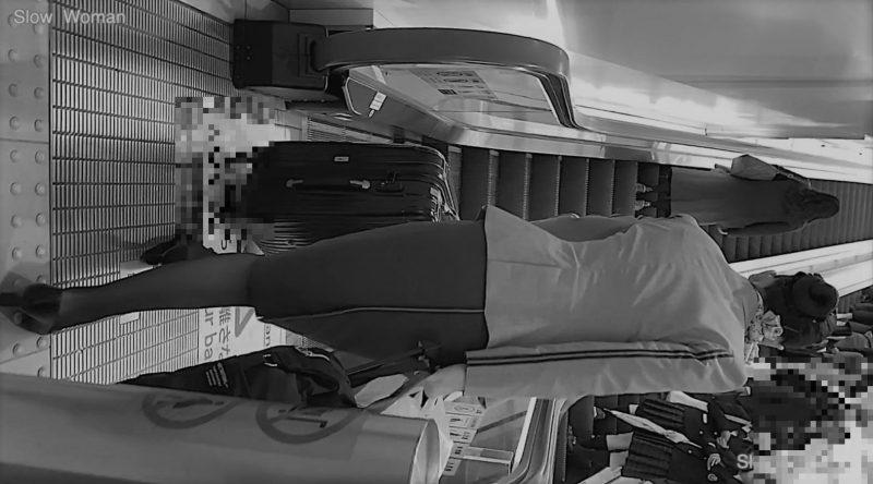 pcolleレビューgcolleパンチラSlow Woman【超貴重品】魅惑のCAさんSP7☆念願のエアライン!粘着の末にPゲット^ ^5