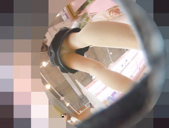 PcolleレビューGcolleパンチラわんぱく液【SSSランク】めちゃくちゃ可愛い子のパンスト生パンツ撮ったww【おまけ有4k】-7