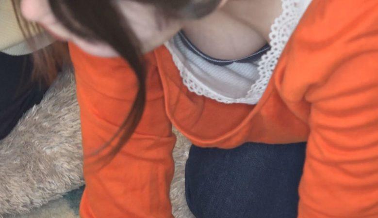 PcolleレビューGcolleパンチラみるき~【産後1年ママさん3人組登場!!】■胸チラ■ハイハイレースで大盛り上がり、おっぱい形成マッサージ{#148}-8