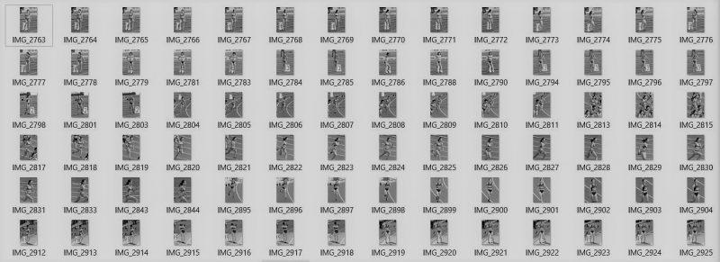 PcolleレビューGcolleパンチラすみたん陸上競技写真集(ブルマ)No267-1