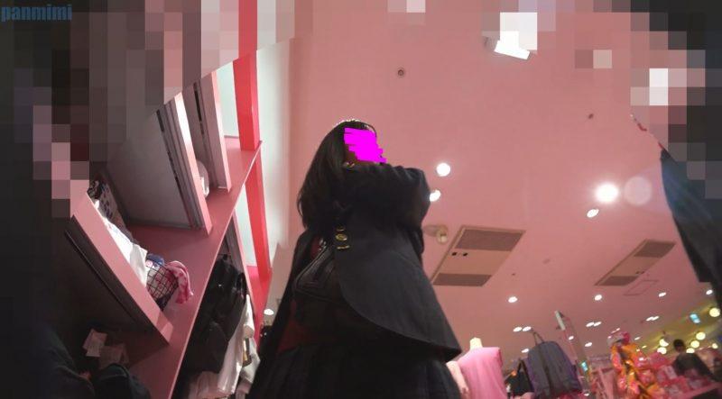PcolleレビューGcolleパンチラぱんの耳[HD60fps]JKお裾分けvol61[お散歩]-13
