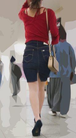 PcolleレビューGcolleパンチラ感動の最終回【412まで顔出し】絶対にパンツ見える服装で絶対にパンツ見せてくれるお姉様-1