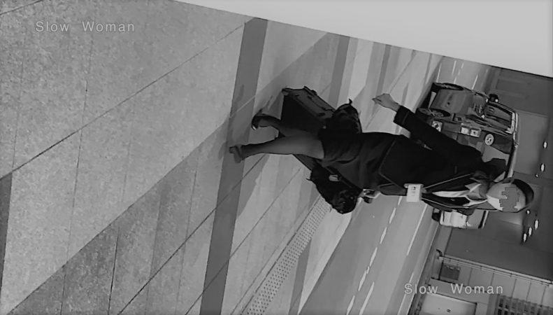 PcolleレビューGcolleパンチラSlow Woman【超絶品】魅惑のCAさんSP15☆艶めかしいJ▲L肉尻!劇エロTバックにナプキンで悶絶^ ^-2