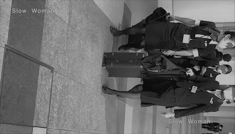 PcolleレビューGcolleパンチラSlow Woman【超絶品】魅惑のCAさんSP15☆艶めかしいJ▲L肉尻!劇エロTバックにナプキンで悶絶^ ^-3