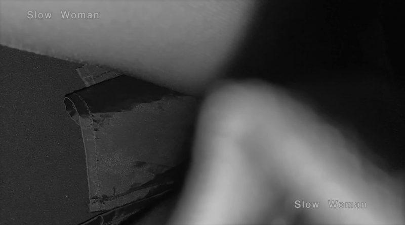 PcolleレビューGcolleパンチラSlow Woman【超絶品】魅惑のCAさんSP15☆艶めかしいJ▲L肉尻!劇エロTバックにナプキンで悶絶^ ^-6