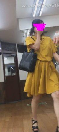 PcolleレビューGcolleパンチラ逆さKing逆さ撮り(OL限定顔出し&純白OLさん睨みあり)スカートの中撮らせて頂きました。vol10-29