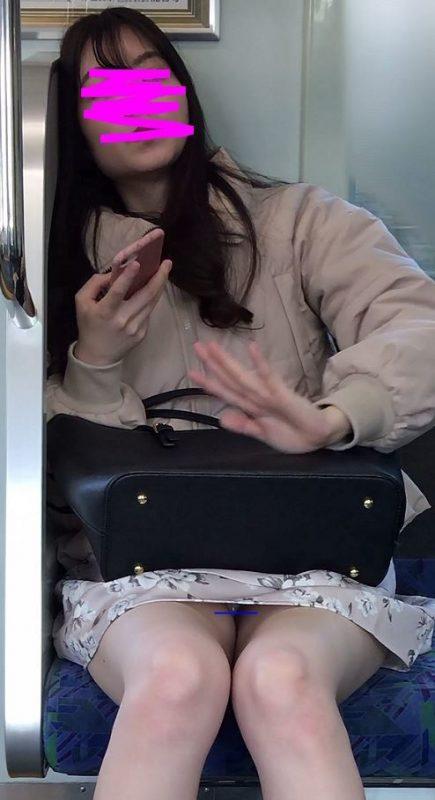 PcolleレビューGcolleパンチラ感動の最終回【419まで顔出し】睨みつけてきた橋本◯奈似最高級清楚美女の生紫パンティ-7
