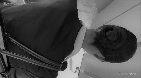 PcolleレビューGcolleパンチラSlow WomanリクルートスーツSP37☆モデル級!スレンダーリクスちゃん粘着の末パンチラGET^ ^-13