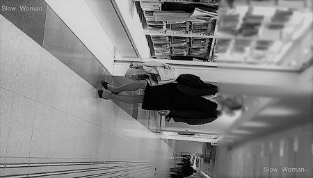PcolleレビューGcolleパンチラSlow WomanリクルートスーツSP37☆モデル級!スレンダーリクスちゃん粘着の末パンチラGET^ ^-1
