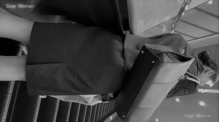 PcolleレビューGcolleパンチラSlow WomanリクルートスーツSP37☆モデル級!スレンダーリクスちゃん粘着の末パンチラGET^ ^-5