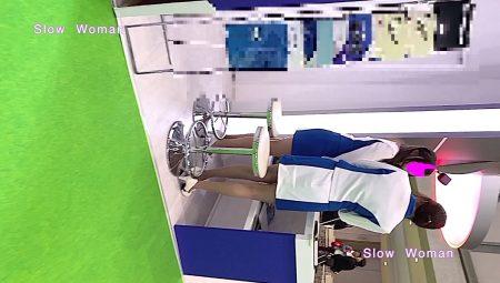 PcolleレビューgcolleパンチラSlow Woman【顔出】コンパニオン40☆美脚揃いの青白コスチューム!フェチシーンに大興奮^ ^-3