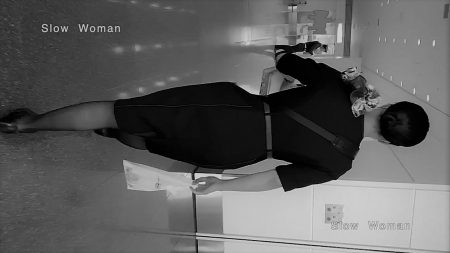 PcolleレビューGcolleパンチラSlow Woman【絶品】魅惑のCAさんSP21☆新制服パンチラ!興奮の黒Pと網目に大悶絶^ ^-1