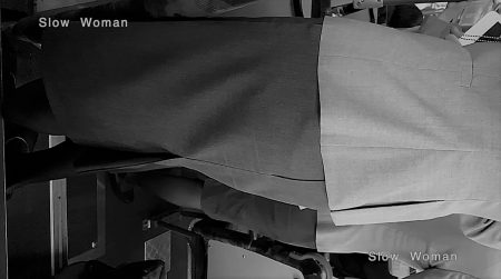 PcolleレビューGcolleパンチラSlow Woman【絶品】魅惑のCAさんSP13☆ライトONで艶めかしい黒スト!3回トライで純白Pゲット^ ^-12