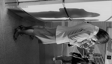 PcolleレビューGcolleパンチラSlow Woman【魅惑のCAさん50☆佇むCAさん集団を接写!艶めかしい黒スト粘着で大興奮^ ^-2