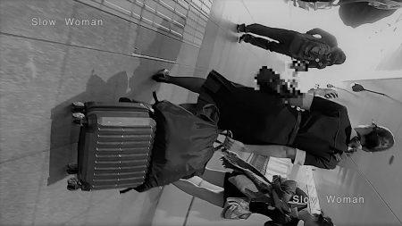 PcolleレビューGcolleパンチラSlow Woman【絶品】魅惑のCAさんSP22☆貴重ストック映像!半袖デカ尻パンチラに悶絶^ ^-1