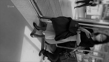 PcolleレビューGcolleパンチラSlow Woman禁断の瞬間37☆帰宅中ぷり尻CAさん!P線タイトスカートの中身拝見で大興奮^ ^-1