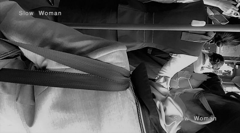 PcolleレビューGcolleパンチラSlow Woman魅惑のCAさん51☆ボカシ無し顔マスク姿CAさん!再びCAパラダイス^ ^-7