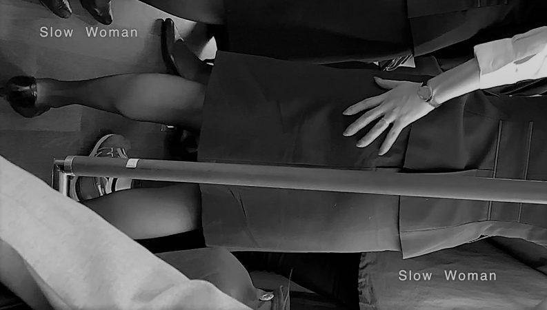 PcolleレビューGcolleパンチラSlow Woman魅惑のCAさん51☆ボカシ無し顔マスク姿CAさん!再びCAパラダイス^ ^-10