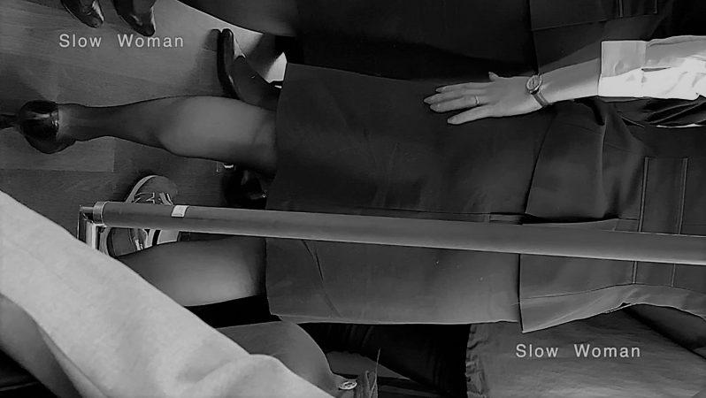 PcolleレビューGcolleパンチラSlow Woman魅惑のCAさん51☆ボカシ無し顔マスク姿CAさん!再びCAパラダイス^ ^-11