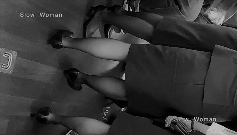 PcolleレビューGcolleパンチラSlow Woman魅惑のCAさん51☆ボカシ無し顔マスク姿CAさん!再びCAパラダイス^ ^-2