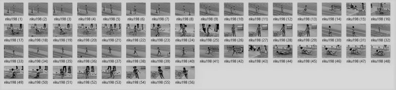 PcolleレビューGcolleパンチラnakakes陸上美女アスリート写真集198,199セット-1