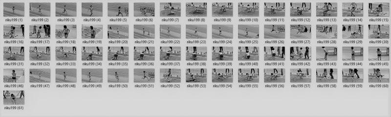 PcolleレビューGcolleパンチラnakakes陸上美女アスリート写真集198,199セット-2