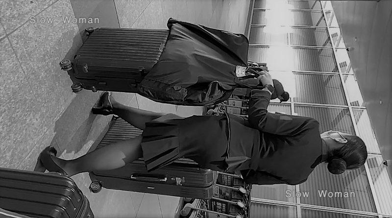 PcolleレビューGcolleパンチラSlow Woman【秘蔵品】魅惑のCAさんSP23☆出血!女の子の日!出たてのヤバイ光景に悶絶^ ^-1