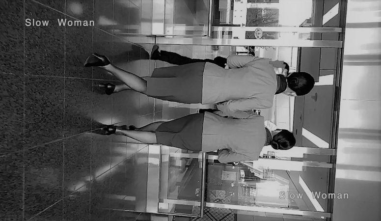 PcolleレビューGcolleパンチラSlow Woman【貴重品】魅惑のCAさんSP24☆人気A□Aパンチラ!エスカのエロ尻にピンクPに大興奮^ ^-2