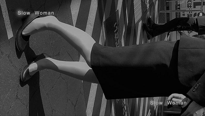 PcolleレビューGcolleパンチラSlow Woman【顔出リメイク】リクルートSP14☆お尻突き出しリクスちゃん!連続大興奮の美脚観察^ ^-5