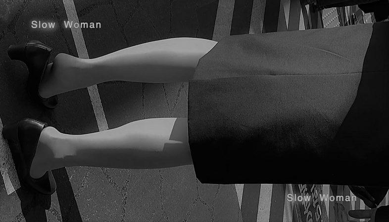 PcolleレビューGcolleパンチラSlow Woman【顔出リメイク】リクルートSP14☆お尻突き出しリクスちゃん!連続大興奮の美脚観察^ ^-6