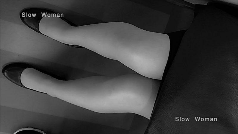 PcolleレビューGcolleパンチラSlow Woman【顔出リメイク】リクルートSP14☆お尻突き出しリクスちゃん!連続大興奮の美脚観察^ ^-13