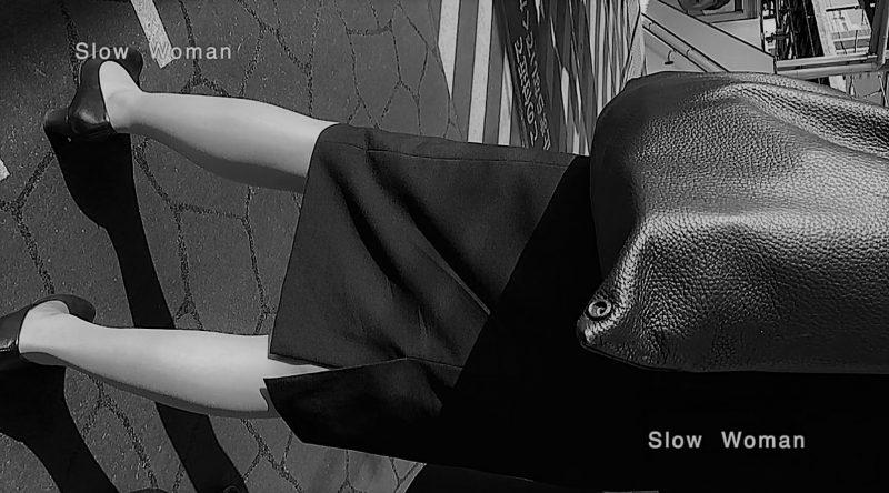 PcolleレビューGcolleパンチラSlow Woman【顔出リメイク】リクルートSP14☆お尻突き出しリクスちゃん!連続大興奮の美脚観察^ ^-2