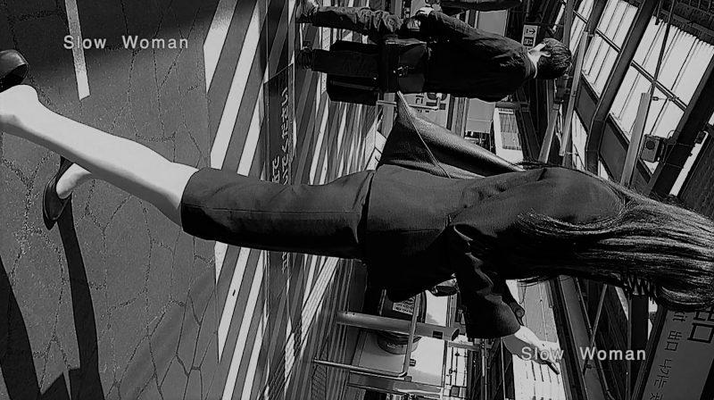 PcolleレビューGcolleパンチラSlow Woman【顔出リメイク】リクルートSP14☆お尻突き出しリクスちゃん!連続大興奮の美脚観察^ ^-3