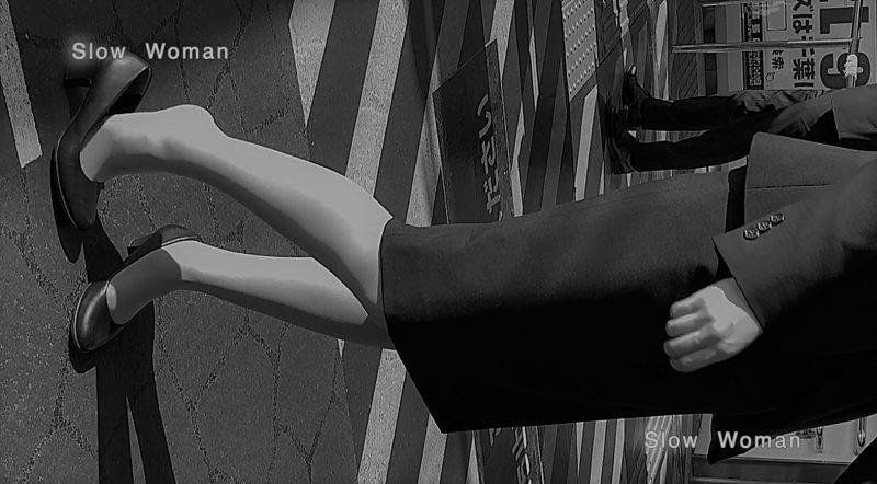 PcolleレビューGcolleパンチラSlow Woman【顔出リメイク】リクルートSP14☆お尻突き出しリクスちゃん!連続大興奮の美脚観察^ ^-4